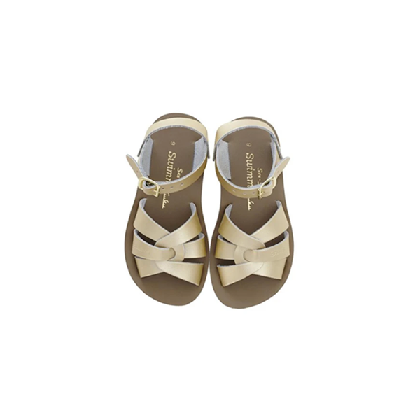 Salt Water - SWIMMER GOLD (KIDS) - Shop Solee Shoes