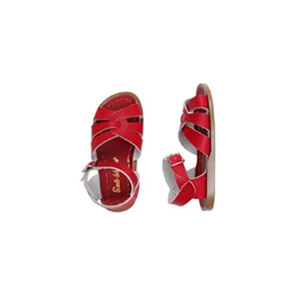 Salt Water - ORIGINAL RED (KIDS) - Shop Solee Shoes