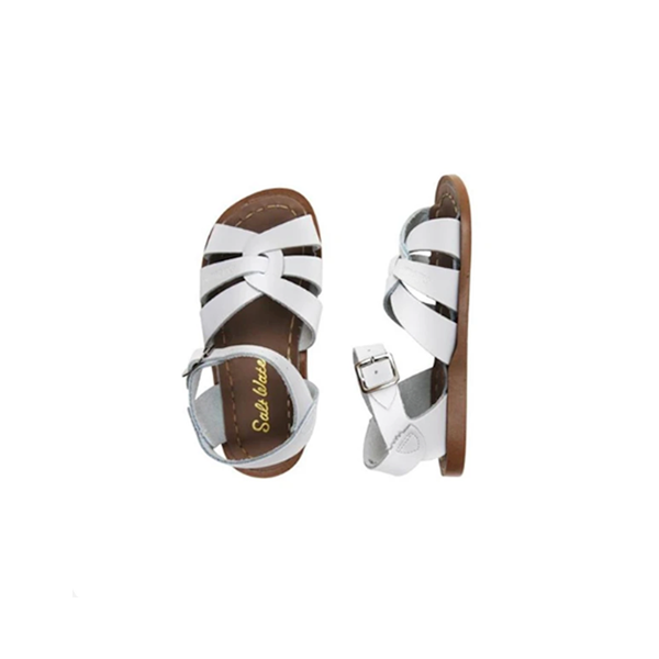 Salt Water - ORIGINAL WHITE (KIDS) - Shop Solee Shoes