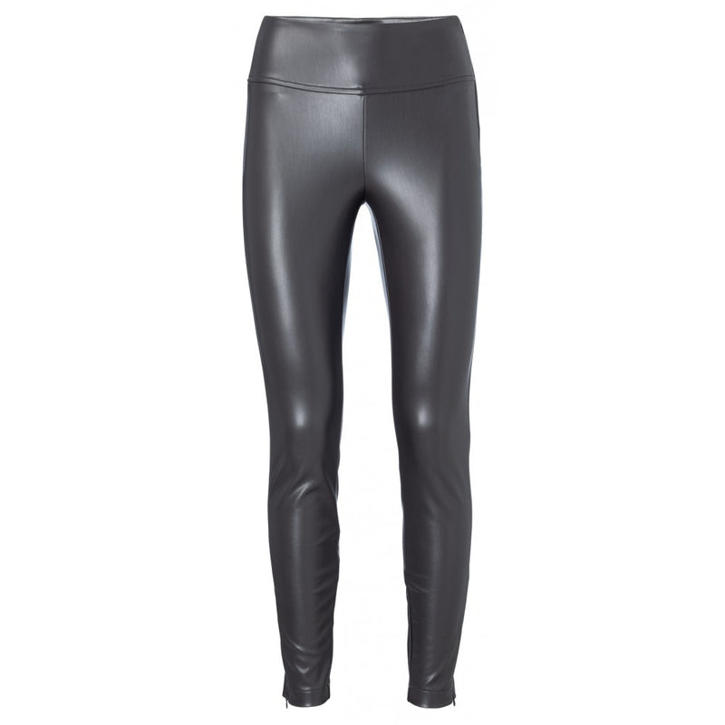 YAYA - FAUX LEATHER LEGGING BLACK