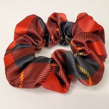 Load image into Gallery viewer, Firefly - Red and Black Hair Scrunchie