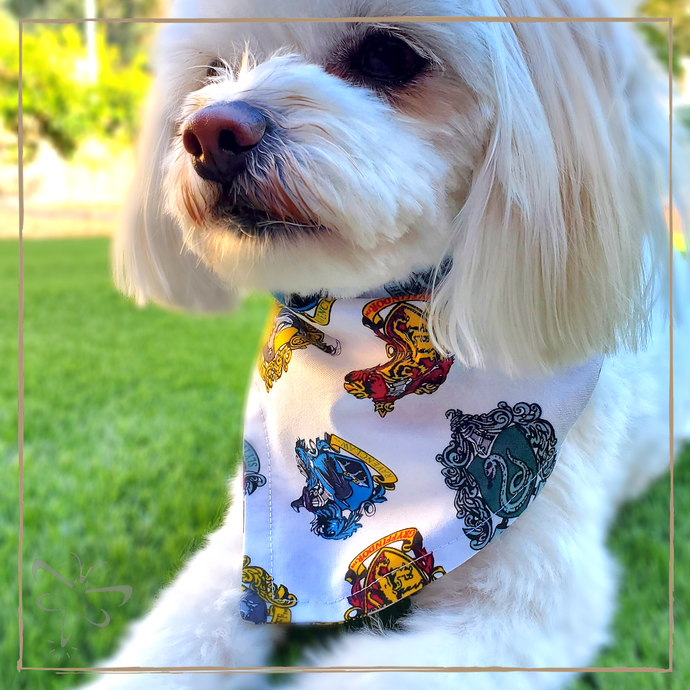 Hogwarts Houses - Pet Bandana