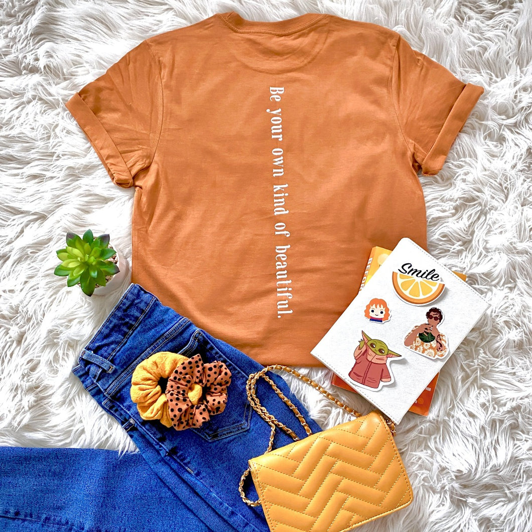 Be Your Own Kind of Beautiful  - Orange Bundle