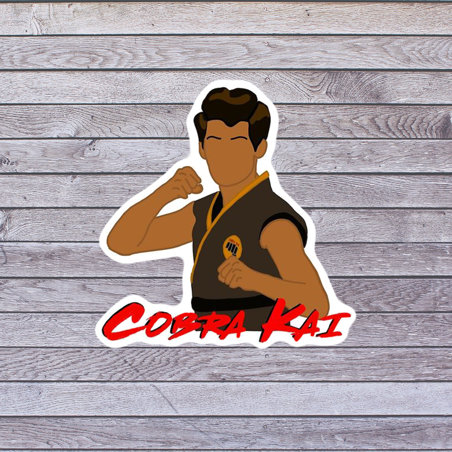 Miguel Sticker - Cobra Kai Inspired