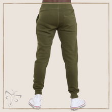 Load image into Gallery viewer, Snake Army Green Premium Fleece Joggers (Unisex)