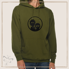 Load image into Gallery viewer, Rick and Morty Inspired Hoodie