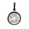 "Black Marble Finish Fry Pan (11"")"