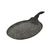 "Black Marble Finish Crepe Pan (11"")"