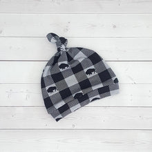 Load image into Gallery viewer, Buffalo Check Knot Hat