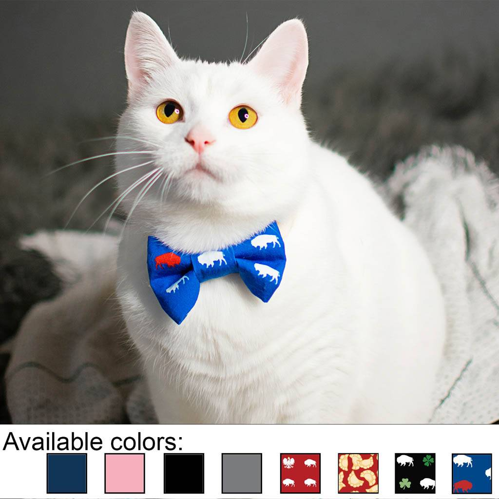 Buffalo Cat Bow Tie