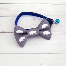 Load image into Gallery viewer, Buffalo Cat Bow Tie