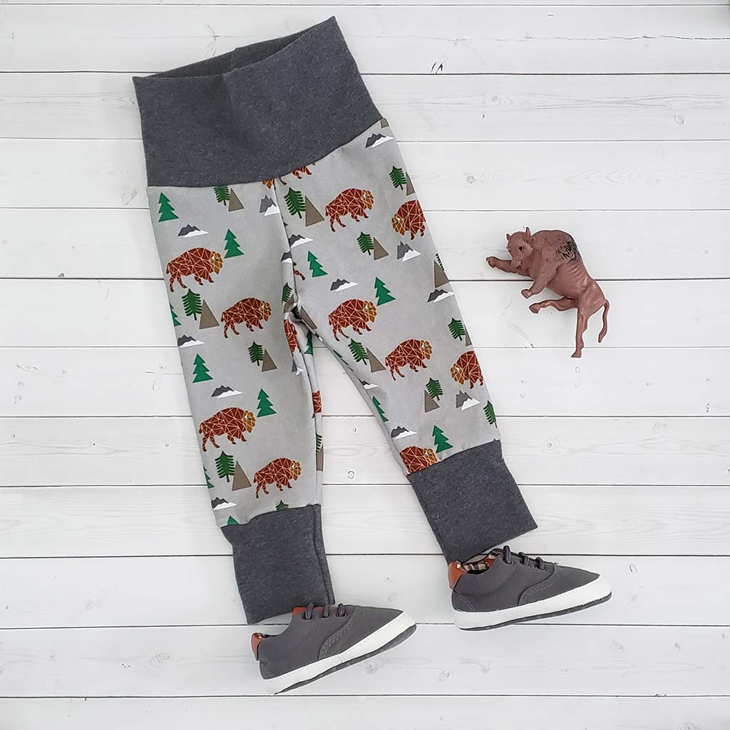 Geo Buffalo Grow With Me Pants