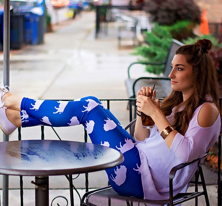 Blue Buffalo Leggings