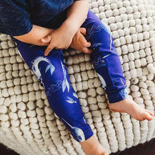 Load image into Gallery viewer, Kid's Narwhal Leggings