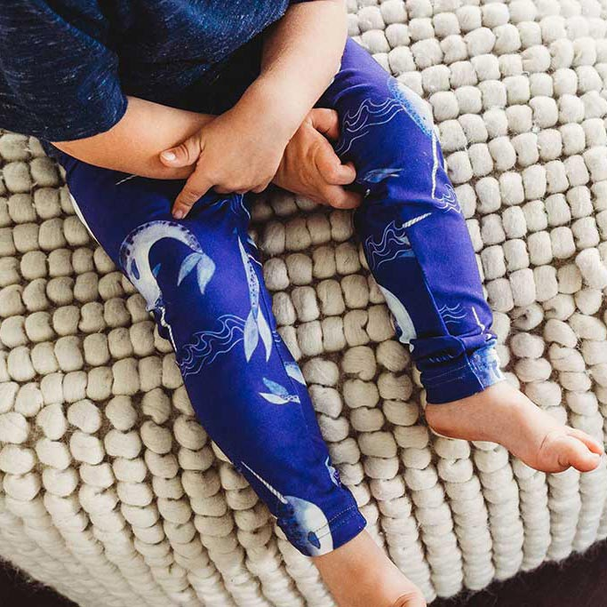 Kid's Narwhal Leggings