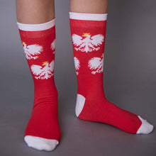 Load image into Gallery viewer, Polish Eagle Socks
