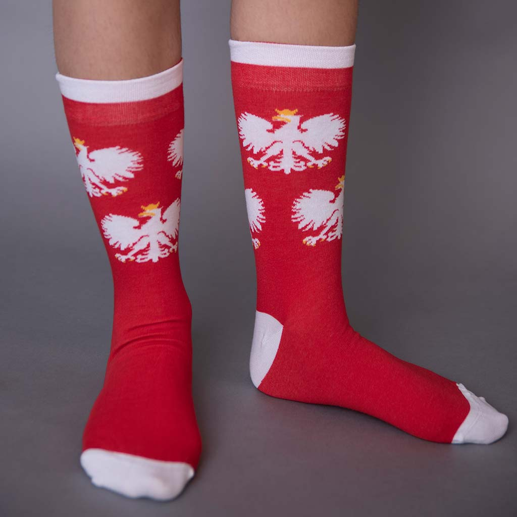 Polish Eagle Socks