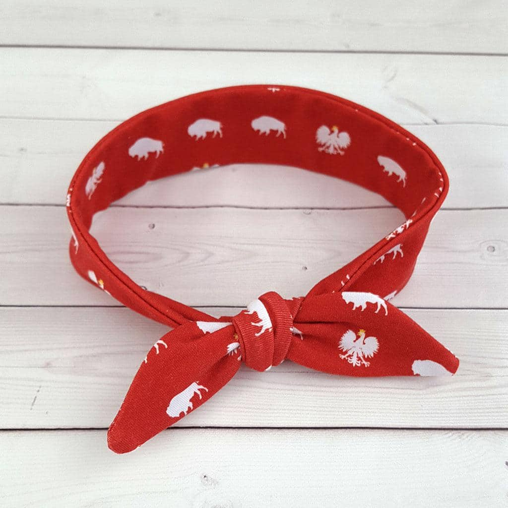 Polish Buffalo Top Knot Headband