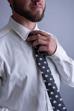 Load image into Gallery viewer, Black Buffalo Neck Tie or Bow Tie