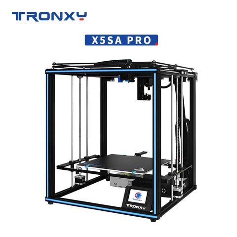 2020 TRONXY 3D printer X5SA PRO Improved Full-featured Linear Guide Rail Titan Extruder DIY Kits Quiet Drive Large scale Drucker