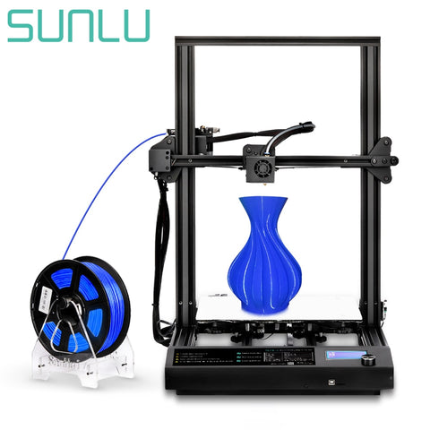 2020 Newest SUNLU FDM 3D Printer Full Metal Frame plus size 310*310*340MM extruder High Precision For 3D Creality model toys.