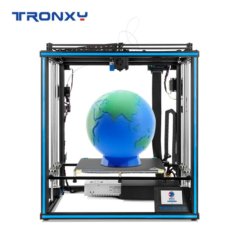 Tronxy X5SA-2E Dual Extruder 2 in 1 out 3D Printer Multi color cyclops head DIY kits Upgrade for two color gradients printing