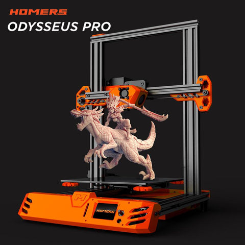 HOMERS/TEVO® Tarantula Pro 3D Printer Kit with 235x235x250mm Printing Size MKS GenL Mainboard 0.4mm Volcano Nozzle Support