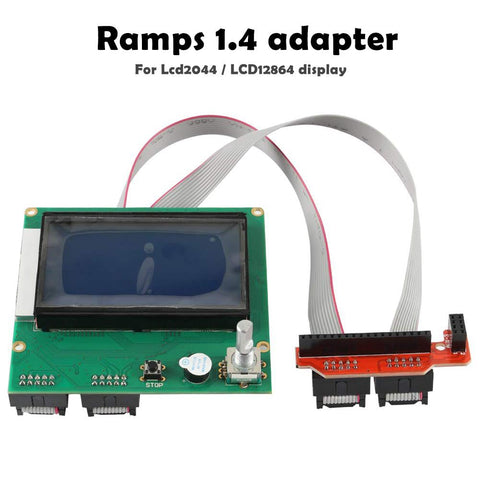 3D Printer RAMPS 1.4 Connector Smart Controller Board Adapter Module for LCD 2004 12864