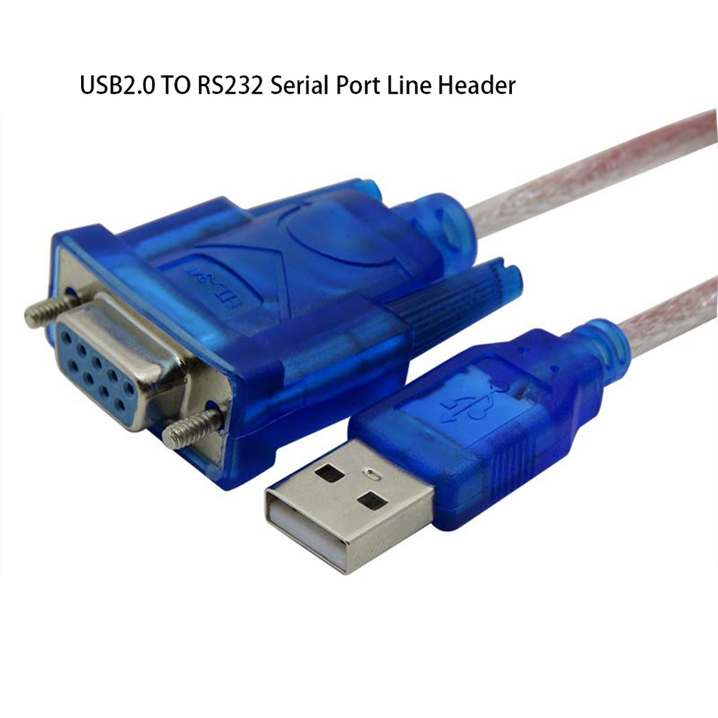 USB2.0 to RS232 adapter Cable USB to DB9 hole female cable adapter  for cashier label printer led display scanner pos hot
