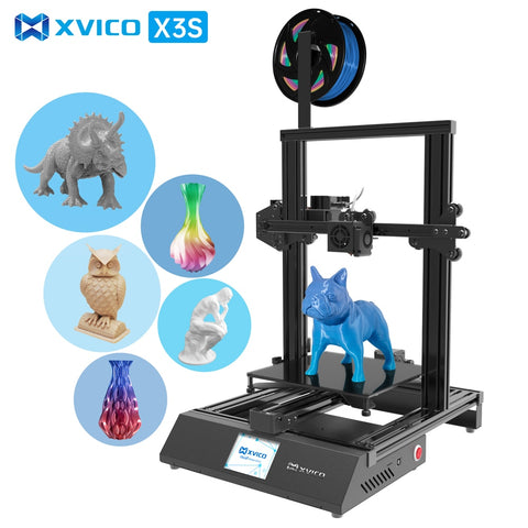 XVICO X3S 3D Printer High Precision Hot Bed DIY USB Open Source 2-Step Assembly Kit 2.8