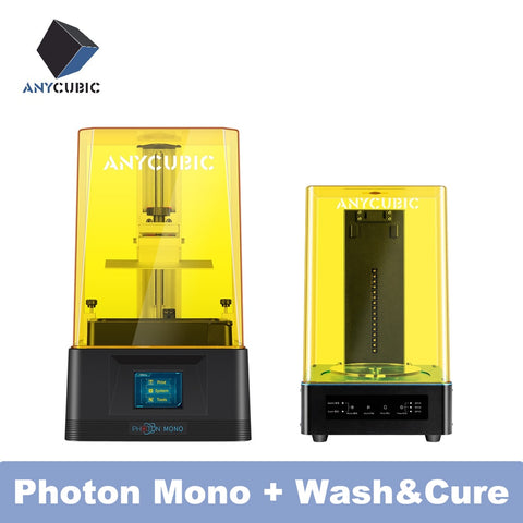 Anycubic 3D Printer Photon Mono High Speed Resin 8X anti-aliasing 3d printer 6'' 2K Monochrome LCD impresora 3d