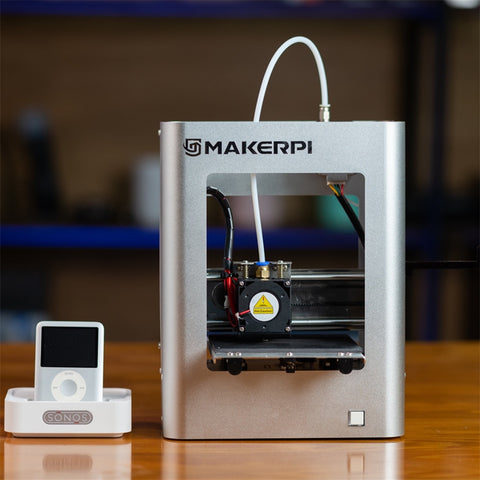 MakerPi Portable 3D Printer Mini Printing Machine For Family Home Use DIY Child Christmas Gif 3D Print Beginners Educationt