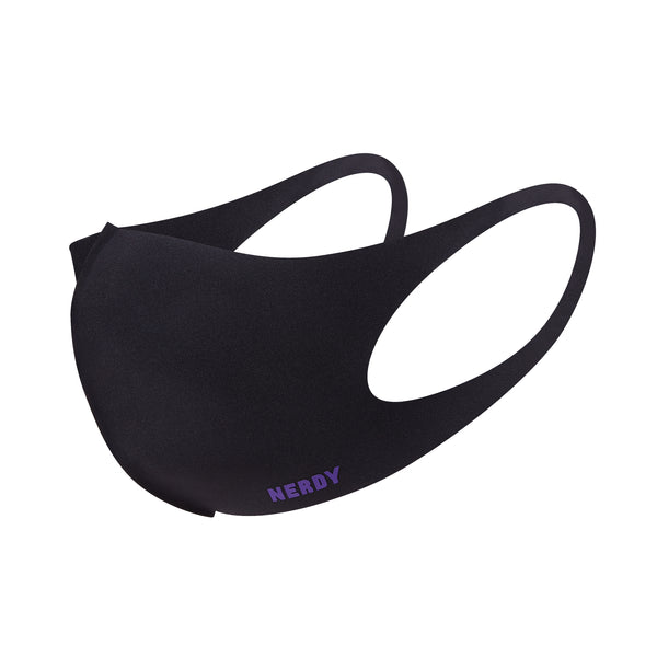 Basic Logo Mask Black - NERDY US