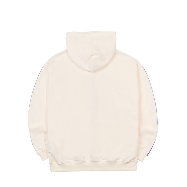 NY Hooded Zip-up Cream