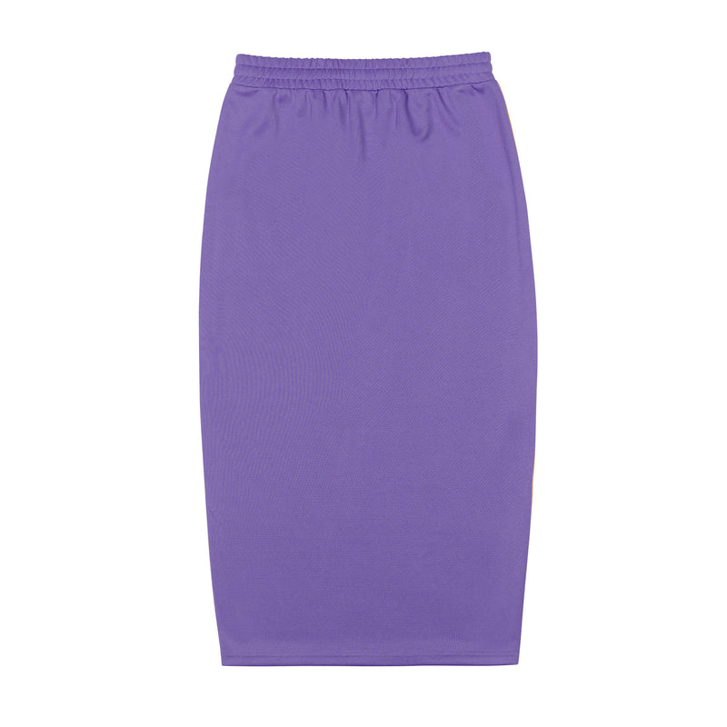 NY Track Long Skirt Purple