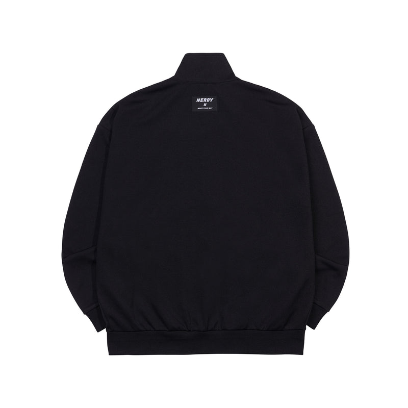 RGB Logo Tape Track Top Black