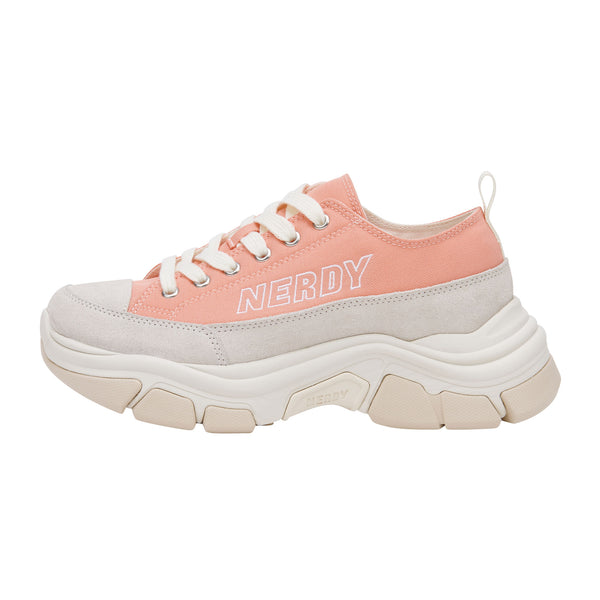 Zelig Canvas Low Baby Pink