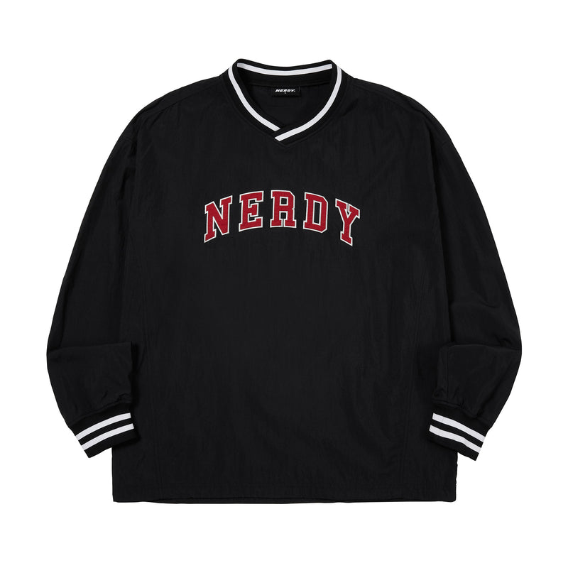 Arch Logo Warm Up Pullover Black