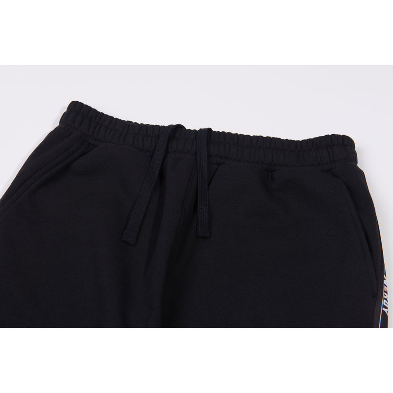 Big N Tape Sweatpants Black - NERDY US