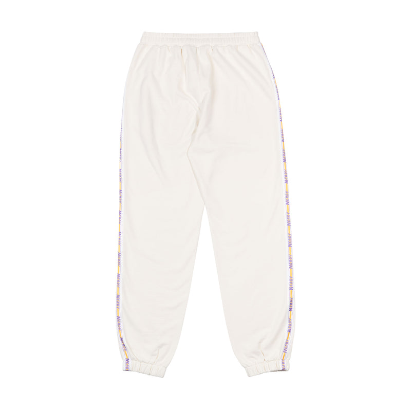 Big N Tape Sweatpants Cream - NERDY US