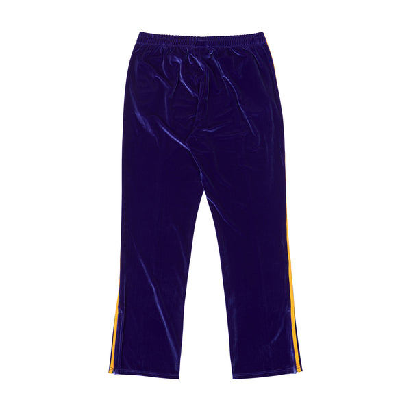 Velvet Track Pants Purple - NERDY US