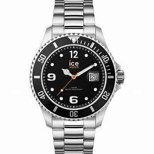 Ice Watch Steel - Black Silver - Bijouterie JC Lambert