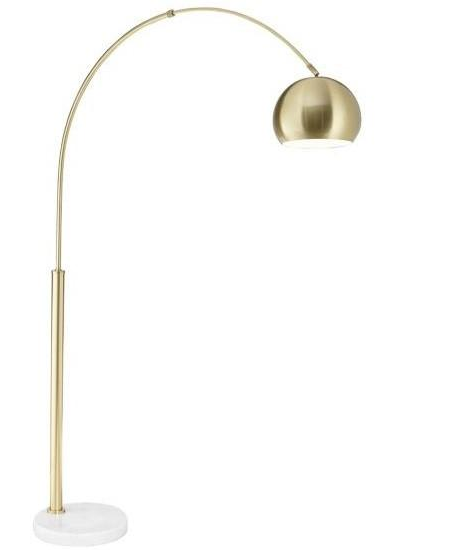 Basque Floor Arc Lamp <span>More color options available</span>