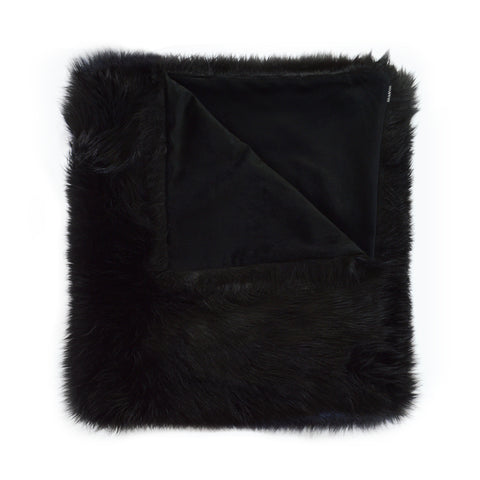 Black Fox Throw