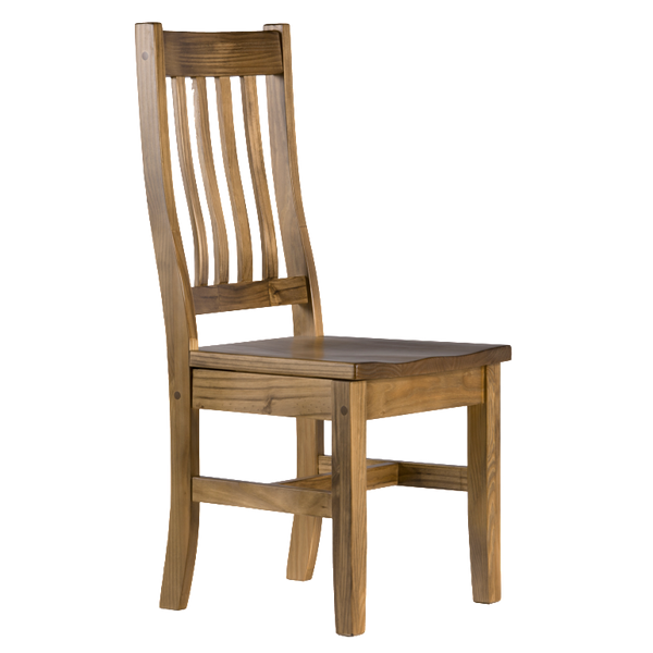 Schoolhouse Chair With Wood Seat