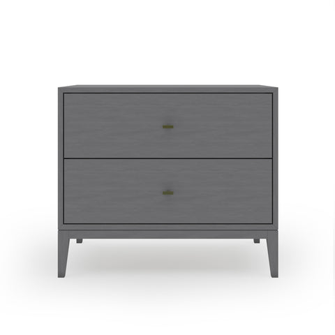 Annex Two Drawer Nightstand