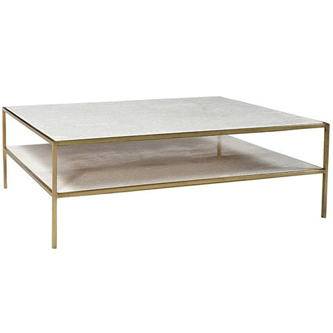 Byrne Coffee Table Brass