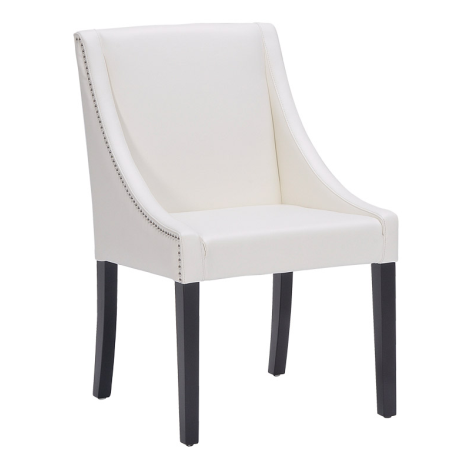 Lucille Dining Chair Leather <span>More color options available</span>