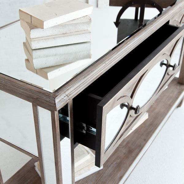Tortise Console Table