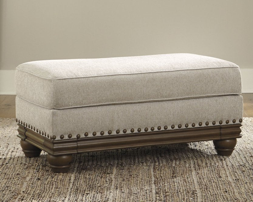 Harleson Signature Design by Ashley Wheat Ottoman